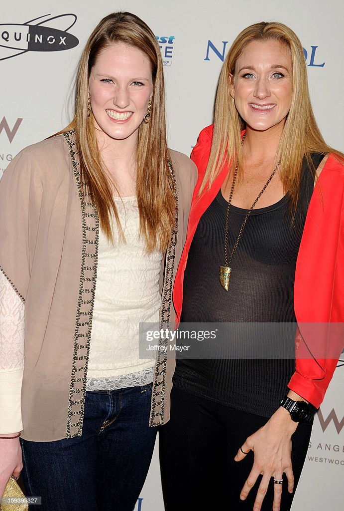 ¿Cuánto mide Missy Franklin? - Real height Swimmer-missy-franklin-and-volleyball-player-kerri-walsh-arrive-at-picture-id159395327