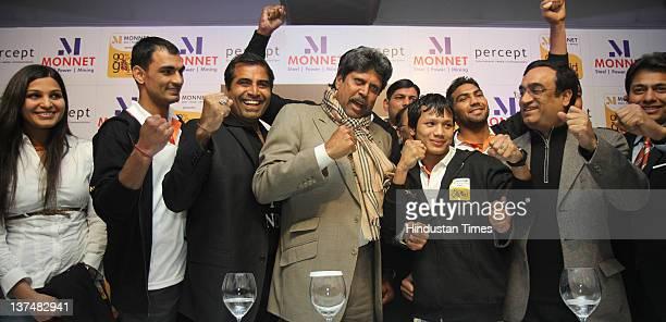Swimmer Richa Mishra Boxer Jai Bhagwan Shailendra Singh MD Percept LTD Kapil Dev former Cricket team captain Boxer Laishram Devendro Singh Sports...