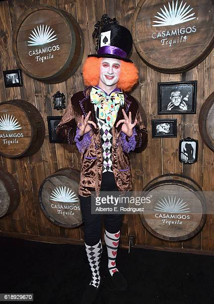 Swimmer Ryan Lochte arrives to the Casamigos Halloween Party at a private residence on October 28 2016 in Beverly Hills California