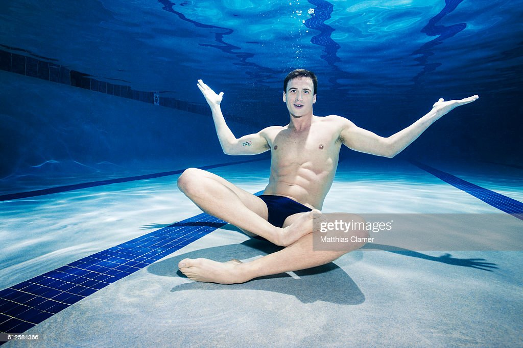 Swimmer Ryan Lochte is photographed for ESPN Magazine, The Music Issue on January 26, 2013 in Colorado Springs, Colorado. PUBLISHED