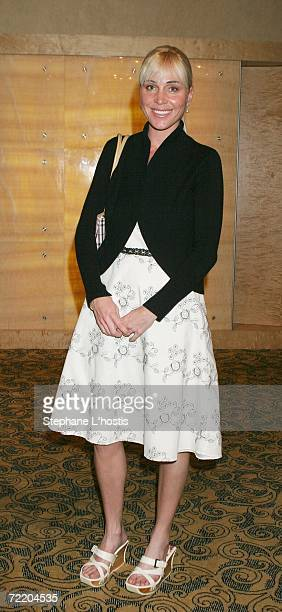 Swimmer Susie Maroney arrives at the An Evening With Patch Adams Fundraiser at the Sofitel Wentworth on October 18 2006 in Sydney Australia The event...