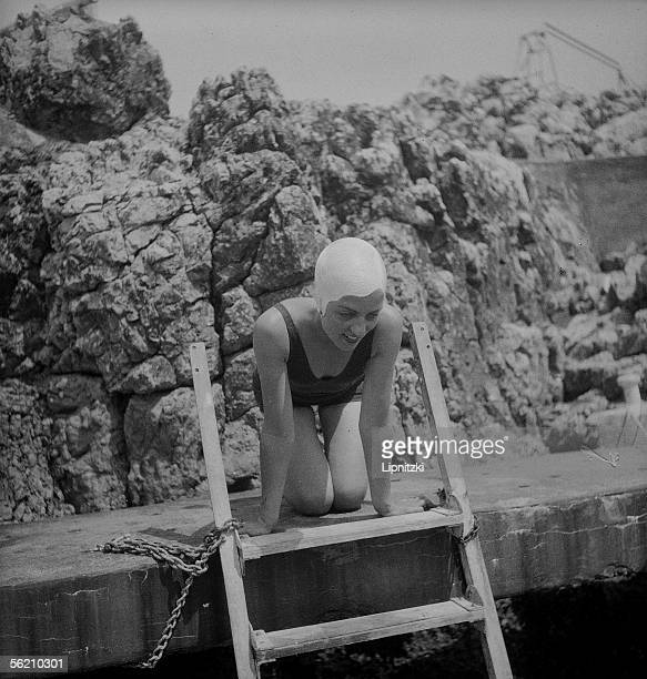 Swimmer The French Riviera about 1935