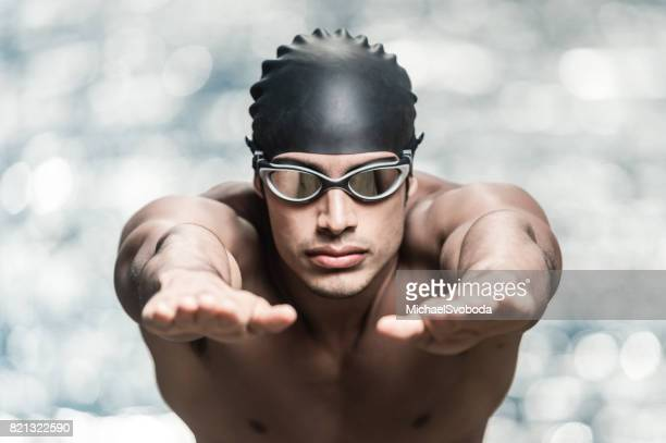 Swimmer Warming Up
