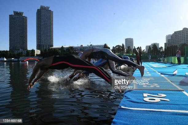 JPN: Marathon Swimming - Olympics: Day 13