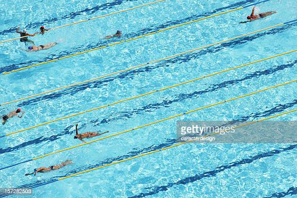 Swimmers from the air