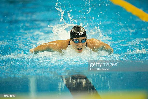 14th FINA World Championships USA Ariana Kukors in action during Women's 200M Individual Medley Final at Oriental Sports Center bronze Shanghai China...