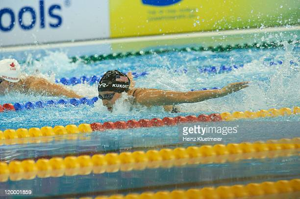 14th FINA World Championships USA Ariana Kukors in action during Women's 200M Individual Medley Semifinals at Oriental Sports Center Shanghai China...