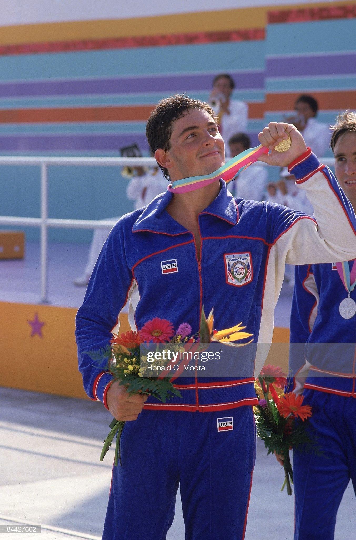 Swimming, 1984 Summer Olympics : Fotografía de noticias