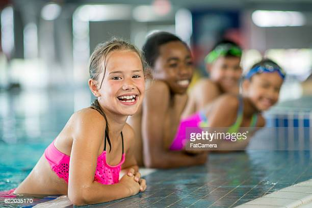 Swimming at a Local Pool