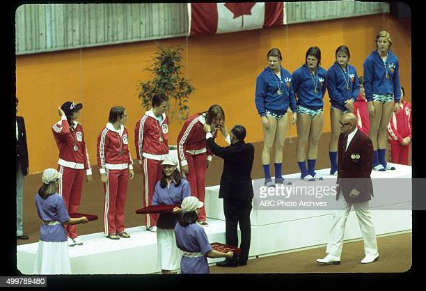 OLYMPICS Swimming Events The 1976 Summer Olympic Games aired on the ABC Television Network from July 17 to August 1 1976 Shoot Date July 18 1976...