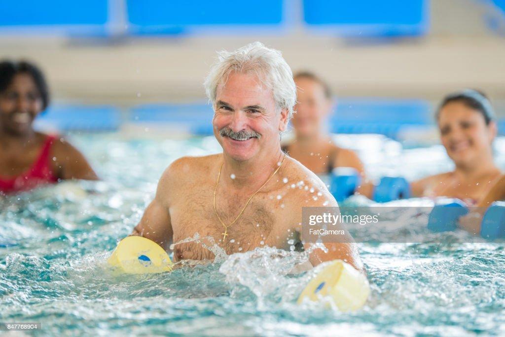 Swimming Fitness : Stock Photo