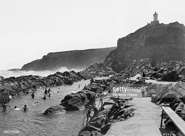 Swimming In Mossel Bay East Of The Cape City In South Africa On May 6 1925 This Area Is Located At The Southern Tip Of Africa Where The Indian And...