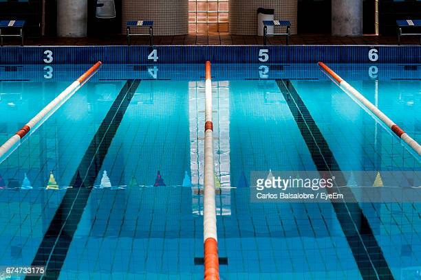 Swimming Lane Markers In Pool