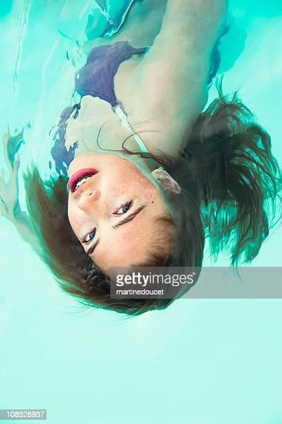 "sirena de natación - ""martine doucet"" or martinedoucet fotografías e imágenes de stock"
