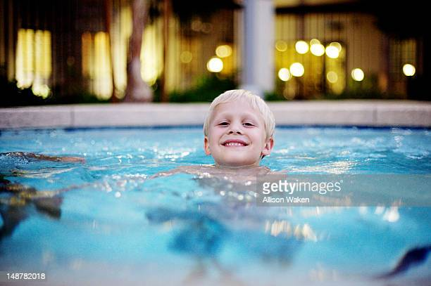 swimming - glendale arizona stock photos and pictures