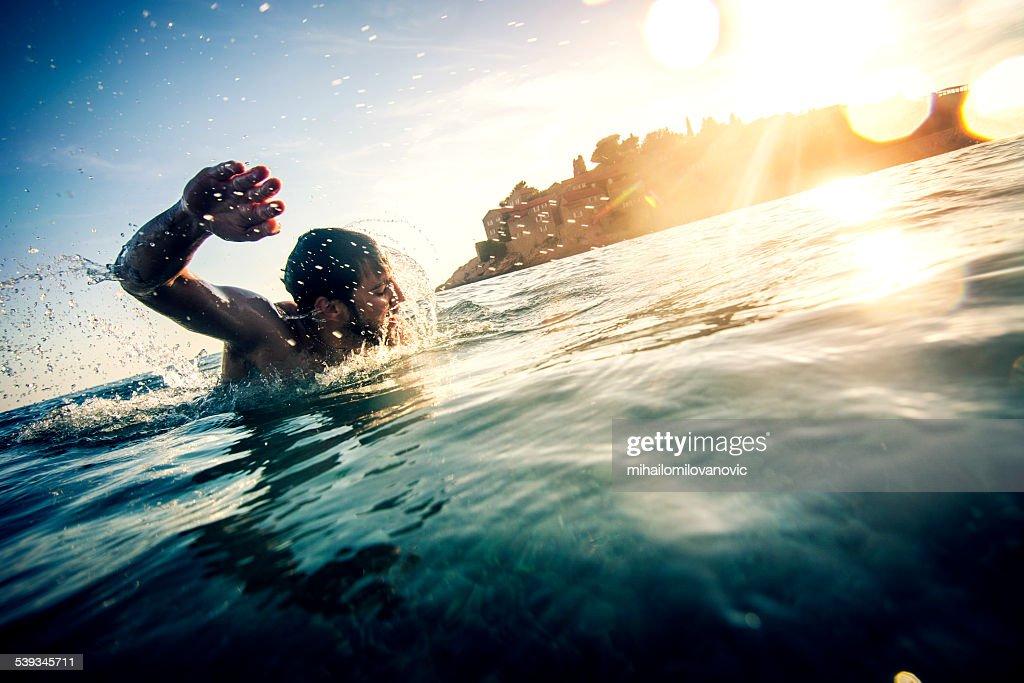 Swimming : Stock Photo