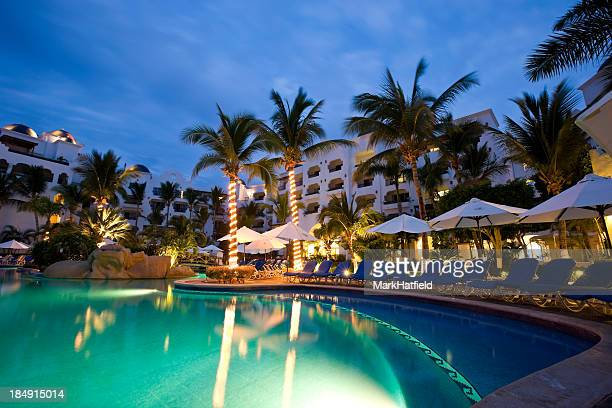 Swimming Pool and Resort in Cabo San Lucas Mexico