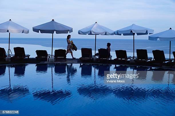 Swimming Pool at Bali Cliff Hotel