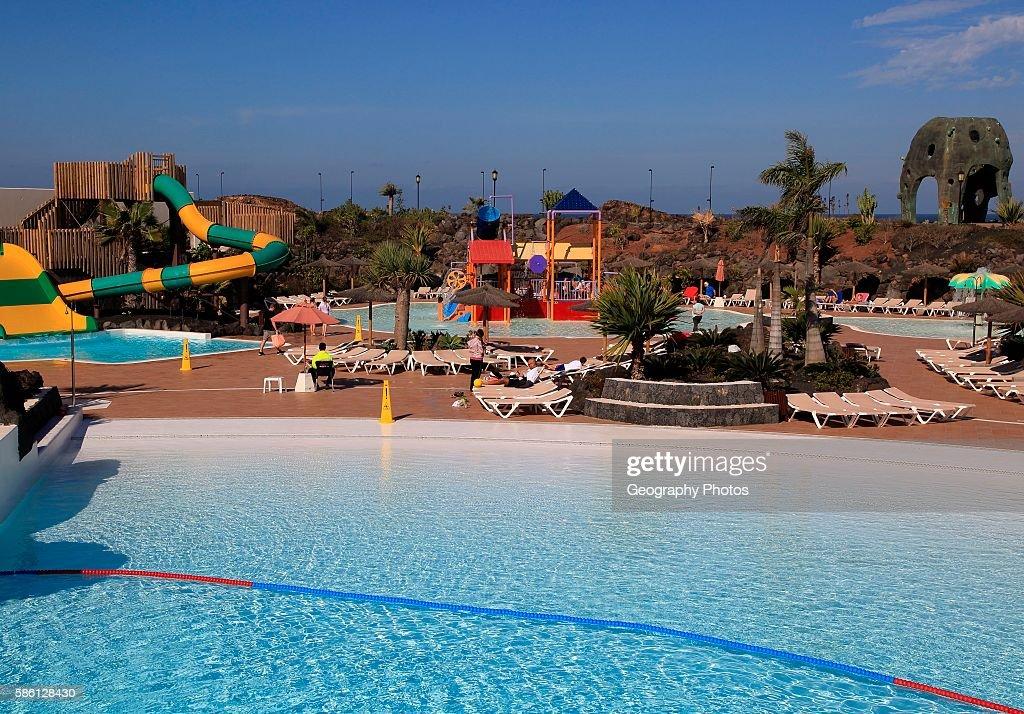Swimming Pool At Origo Mare Hotel Water Park Majanicho Fuerteventura Canary Islands