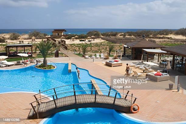 Swimming pool at Pestana Porto Santo Beach Hotel.