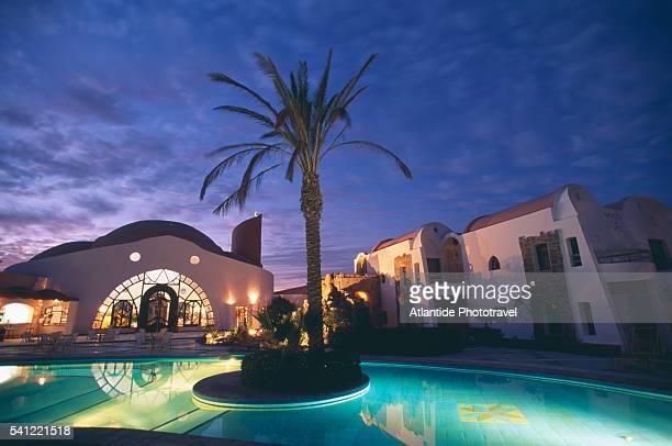 Swimming Pool at Twilight at Shams Alam Resort