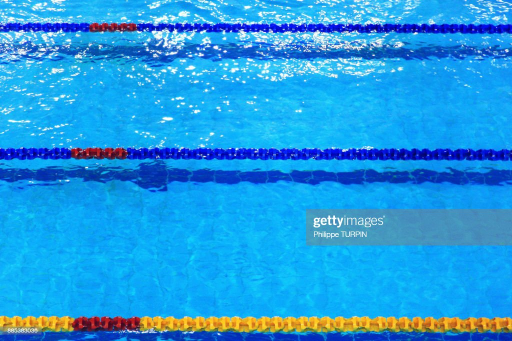 Swimming Pool Lane Dividers High-Res Stock Photo - Getty Images