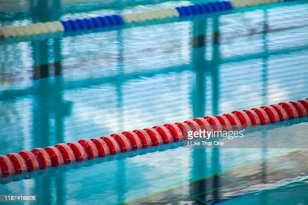 swimming pool lanes 2 - atomic imagery stock photos and pictures