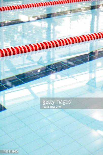 swimming pool lanes 4 - atomic imagery stock photos and pictures
