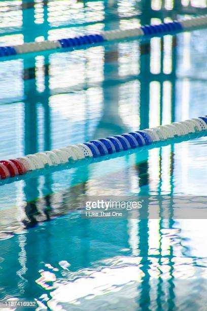 swimming pool lanes - atomic imagery stock photos and pictures