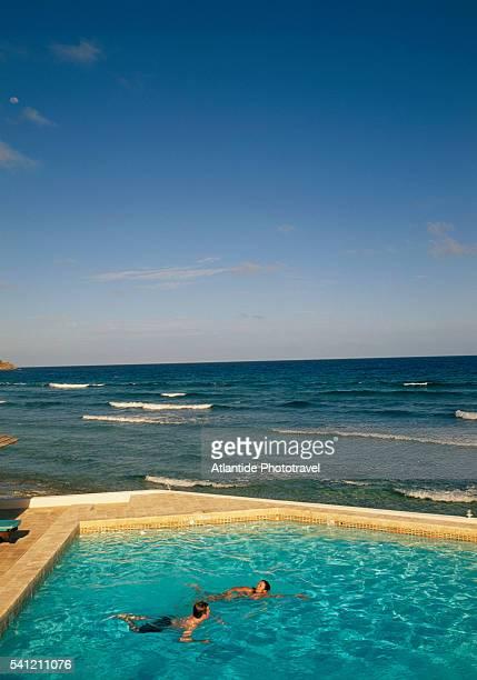 Swimming Pool on the Ocean