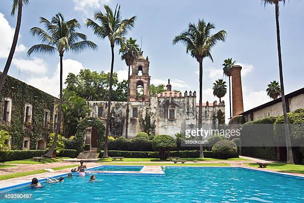 swimming pool - cuernavaca stock photos and pictures