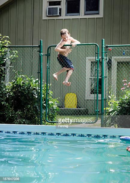 Swimmingpool und Sicherheit
