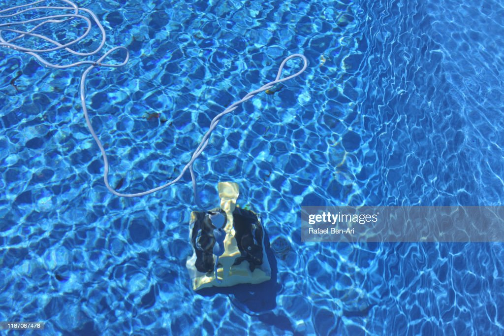 Swimming Pool Vacuum Cleaner : Stock Photo