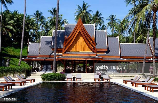 プールヴィラのホテルのプーケット島(タイ)