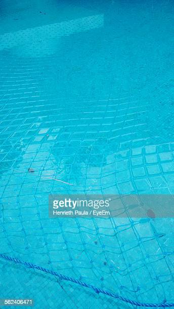 Swimming Pool With Safety Net