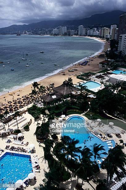 Swimming Pools near Acapulco Bay