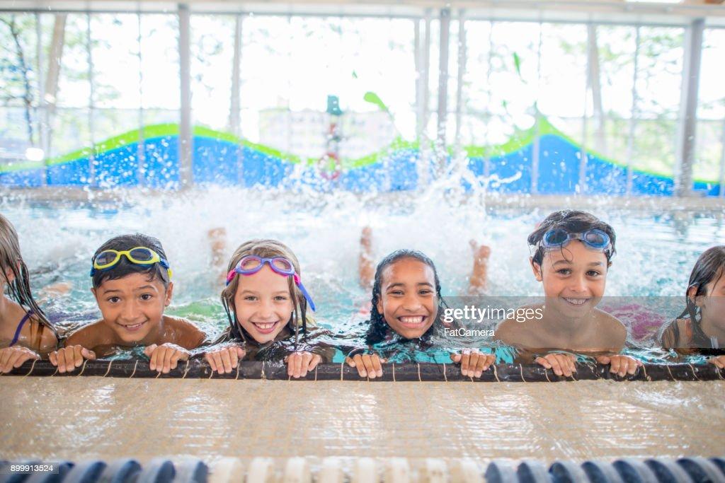 Swimming Practice : Stock Photo