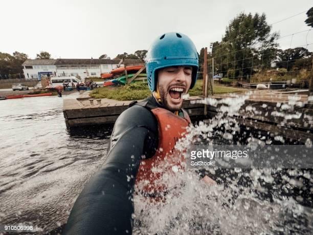 Swimming Selfie