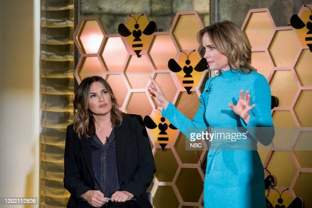 UNIT Swimming With The Sharks Episode 21015 Pictured Mariska Hargitay as Captain Olivia Benson Radha Mitchell as Luna Montgomery