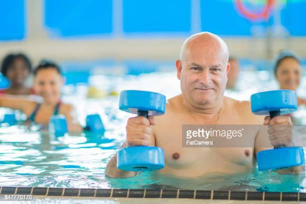 Simma med vikter