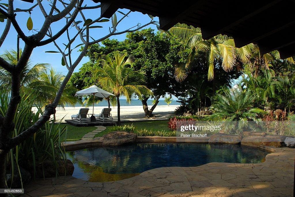 Swimming Pool Und Garten Von Strand Villa Hotelstrand 5 Sterne