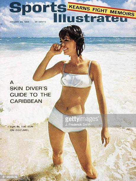Swimsuit Issue 1964: Model Babette March poses for the 1964 Sports Illustrated swimsuit issue on November 21, 1963 in Cozumel, Mexico. COVER IMAGE....