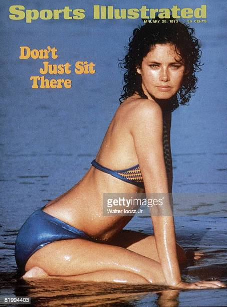 Swimsuit Issue 1973: Model Dayle Haddon poses for the 1973 Sports Illustrated Swimsuit issue on January 1, 1973 in Great Exuma Island, Bahamas. COVER...