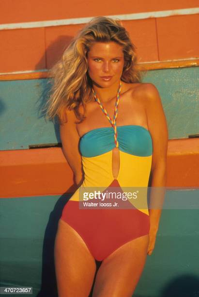 Swimsuit Issue 1978 Model Christie Brinkley poses for the 1978 Sports Illustrated Swimsuit issue on November 28 1977 in Salvador Brazil CREDIT MUST...