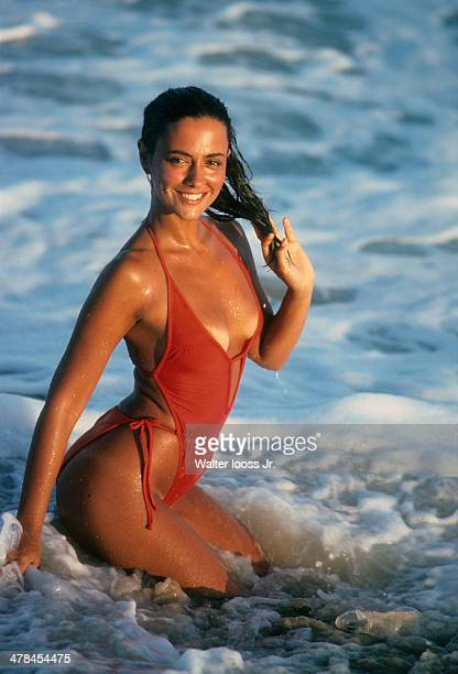 Swimsuit Issue 1978 Model Maria Joao poses for the 1978 Sports Illustrated Swimsuit issue on November 28 1977 in Itapoa Brazil CREDIT MUST READ...