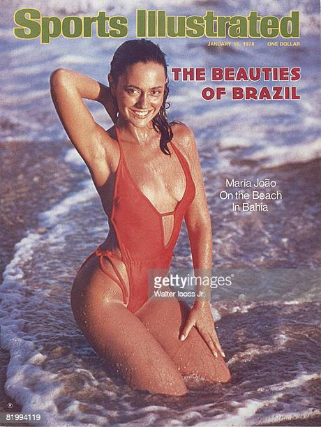 Swimsuit Issue 1978 Model Maria Joao poses for the 1978 Sports Illustrated Swimsuit issue on November 28 1977 in Itapoa Brazil COVER IMAGE CREDIT...