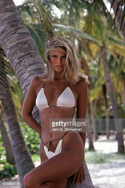 Christie Brinkley Swimsuit Issue 1980 Model Christie Brinkley is photographed for the 1980 Sports Illustrated Swimsuit issue on November 23 1979 in...