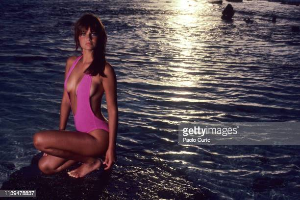 Swimsuit Issue 1984 Model Paulina Porizkova poses for the 1984 Sports Illustrated Swimsuit issue on December 16 1983 in Aruba COVER IMAGE CREDIT MUST...