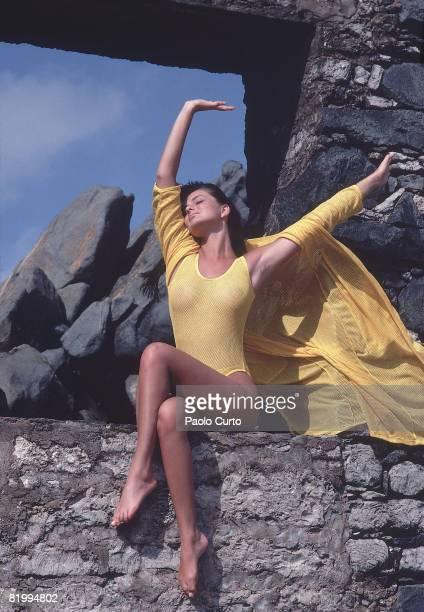Swimsuit Issue 1984 Model Paulina Porizkova poses for the 1984 Sports Illustrated Swimsuit issue on December 16 1983 in Aruba CREDIT MUST READ Paulo...