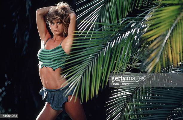 Swimsuit Issue 1986 Model Kathy Ireland poses for the 1986 Sports Illustrated swimsuit issue on November 24 1985 in BoraBora PUBLISHED IMAGE CREDIT...
